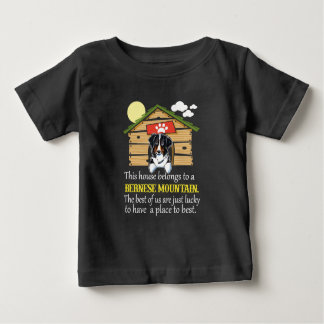 Bernese Mountain Dog House Baby T-Shirt