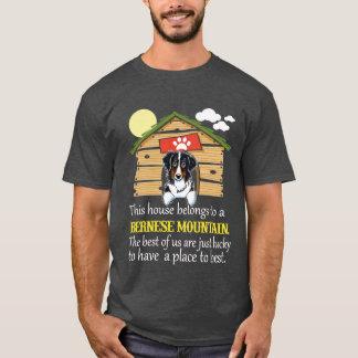 Bernese Mountain Dog House T-Shirt