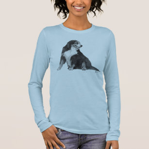 Bernese Mountain Dog Long Sleeve T-Shirt