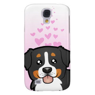 Bernese Mountain Dog Love Galaxy S4 Case