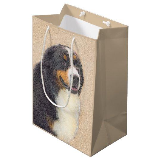 Bernese Mountain Dog Medium Gift Bag