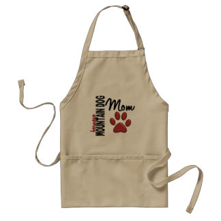 Bernese Mountain Dog Mom 2 Standard Apron