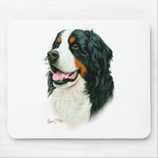 Bernese Mountain Dog Mouse Mat