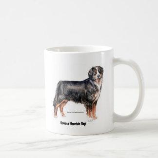 Bernese Mountain Dog Basic White Mug