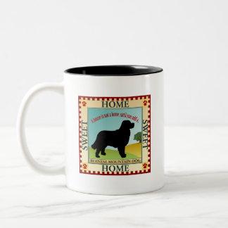 Bernese Mountain Dog Two-Tone Mug