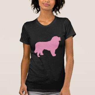 Bernese Mountain Dog (pink silhouette) T Shirt