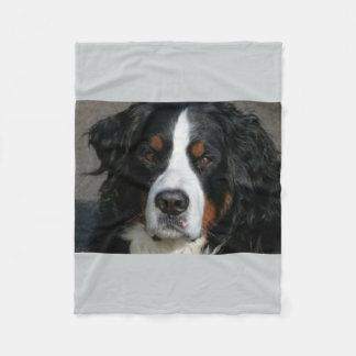 bernese mountain dog.png fleece blanket