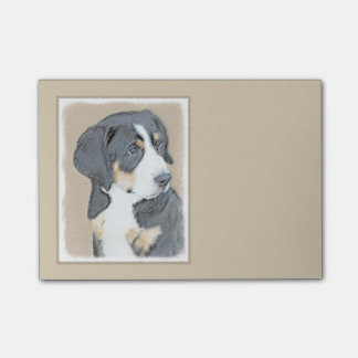 Bernese Mountain Dog Puppy Post-it® Notes