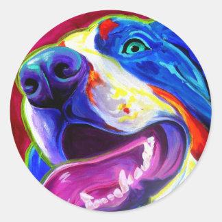 Bernese Mountain Dog Round Sticker