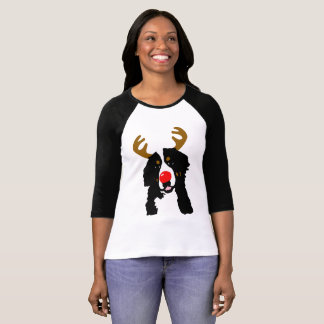 Bernese Mountain Dog Rudolph Tshirt