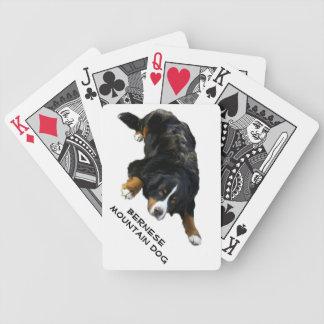 Bernese Mountain Dog Rug Pose Cards Poker Cards