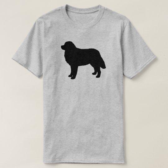 Bernese Mountain Dog Silhouette T-Shirt