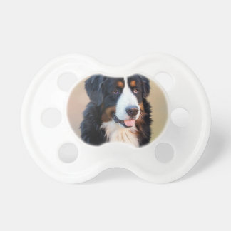 Bernese mountain dog, the obedient dog pacifiers