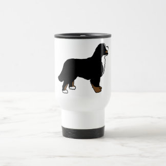 Bernese Mountain Dog Triclolor Travel Mug