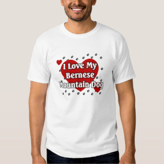 Bernese Mountain Dog Tshirts