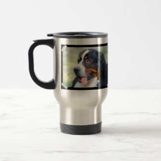 Bernese Mountain Puppy Travel Mug