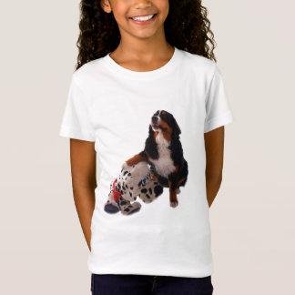 Bernese puppy with soft toy T-Shirt