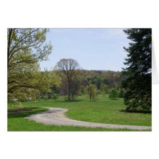 Bernheim Florest Trail Greeting Card