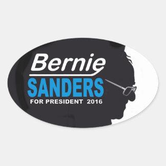 Bernie 2016 oval sticker