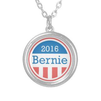 Bernie 2016 round pendant necklace