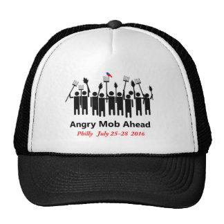 Bernie Angry Mob Trucker Hat