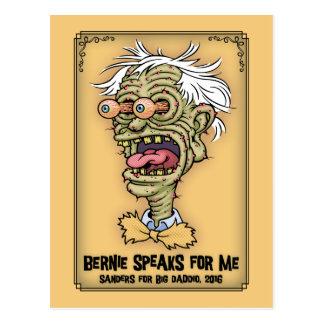 Bernie For Daddio Postcard