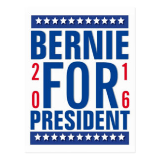 Bernie for President 2016 Postcards