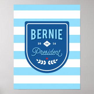 Bernie for President Poster