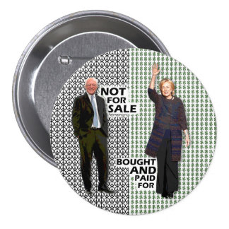Bernie is Not For Sale 7.5 Cm Round Badge