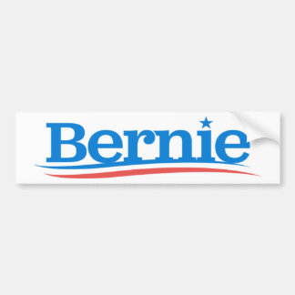 Bernie Logo Bumper Sticker