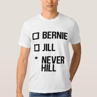 Bernie or Jill, NeverHill - black Tees