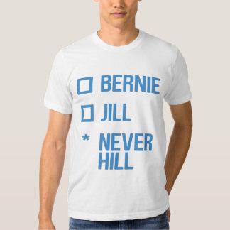 Bernie or Jill, NeverHill - blue T Shirt