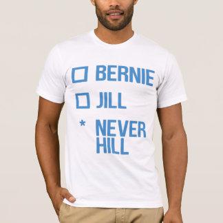 Bernie or Jill, NeverHill - blue T-Shirt
