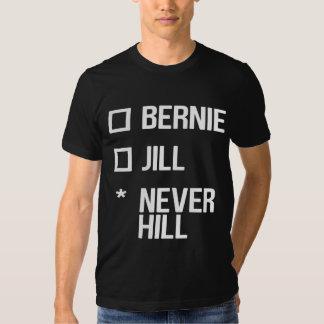 Bernie or Jill, NeverHill - white T Shirts