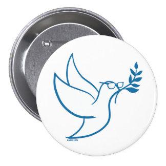 Bernie Peace Bird Pin