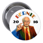Bernie Sanders 2016 7.5 Cm Round Badge