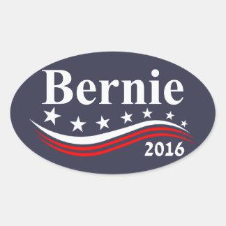 Bernie Sanders 2016 Oval Sticker
