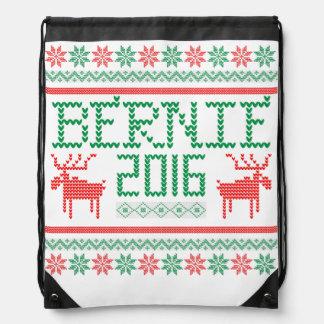 Bernie Sanders 2016 President Ugly Holiday Sweater Backpack