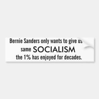 Bernie Sanders' (2016) Socialism Bumper Sticker