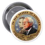 Bernie Sanders & Abe 7.5 Cm Round Badge