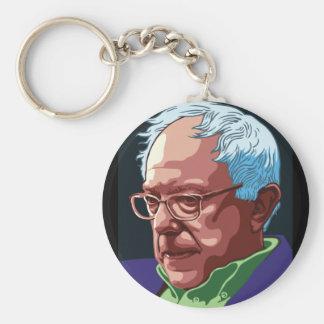 Bernie Sanders Basic Round Button Key Ring