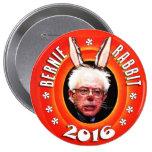 Bernie Sanders: Bernie Rabbit 2016 10 Cm Round Badge