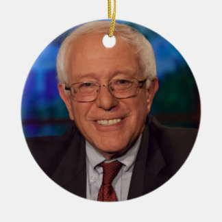 Bernie Sanders Christmas Ornament
