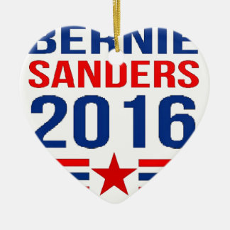 Bernie Sanders Christmas Ornament