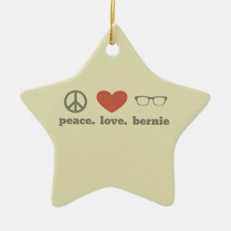 Bernie Sanders Election Swag Ceramic Star Decoration
