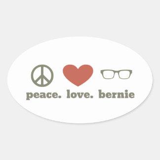 Bernie Sanders Election Swag Oval Sticker