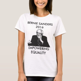 Bernie Sanders Empowering Equality T-Shirt