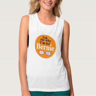 Bernie Sanders Flowy Muscle Tank Top