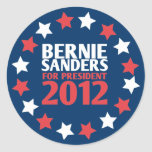 Bernie Sanders for President 2012 Sticker