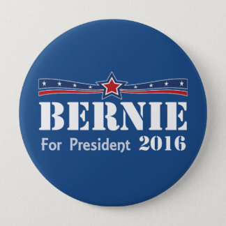 Bernie Sanders For President 2016 10 Cm Round Badge